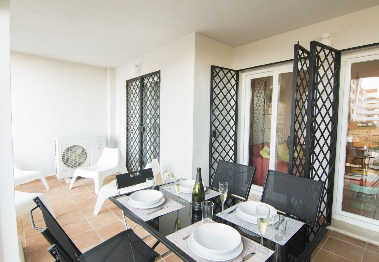 Zapholiday - 2187 - Manilva appartementhuur - terras