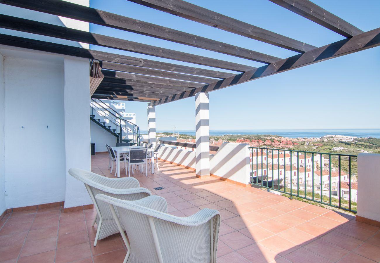 Zapholiday - 2186 - appartement verhuur Casares - uitzicht op zee