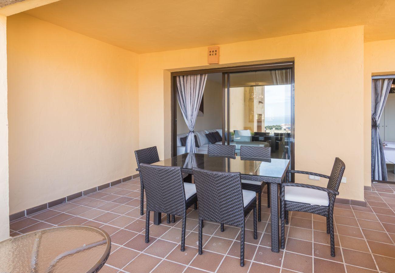 Zapholiday - 2185 - Verhuur appartement Manilva-terras