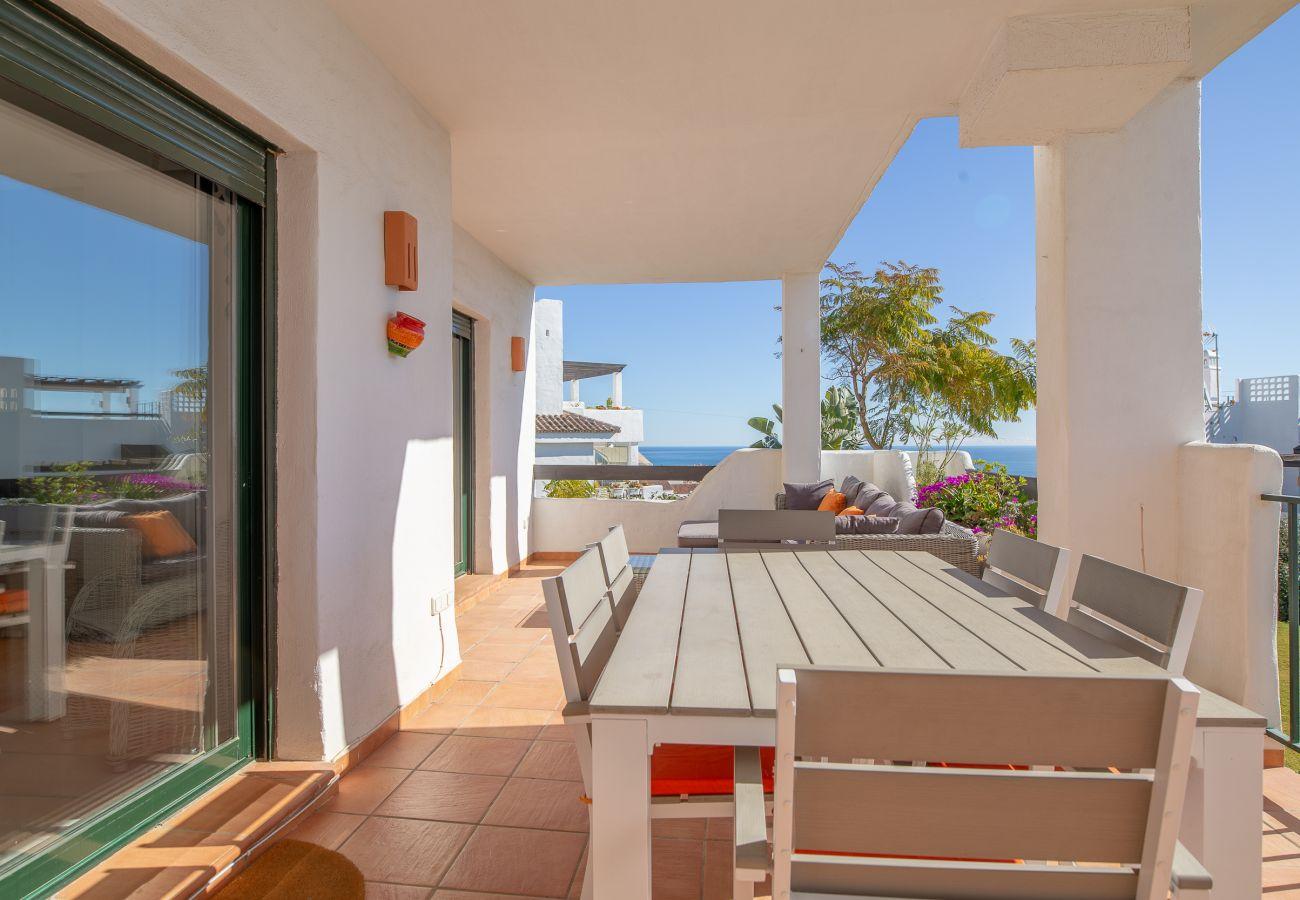 Zapholiday - 2193 - appartement verhuur Casares - uitzicht op zee