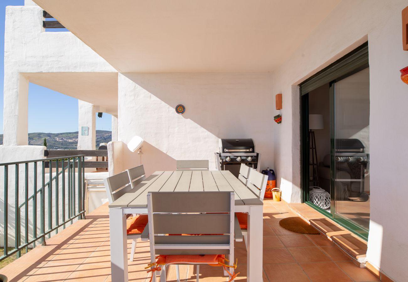 Zapholiday - 2193 - appartement verhuur Casares - terras