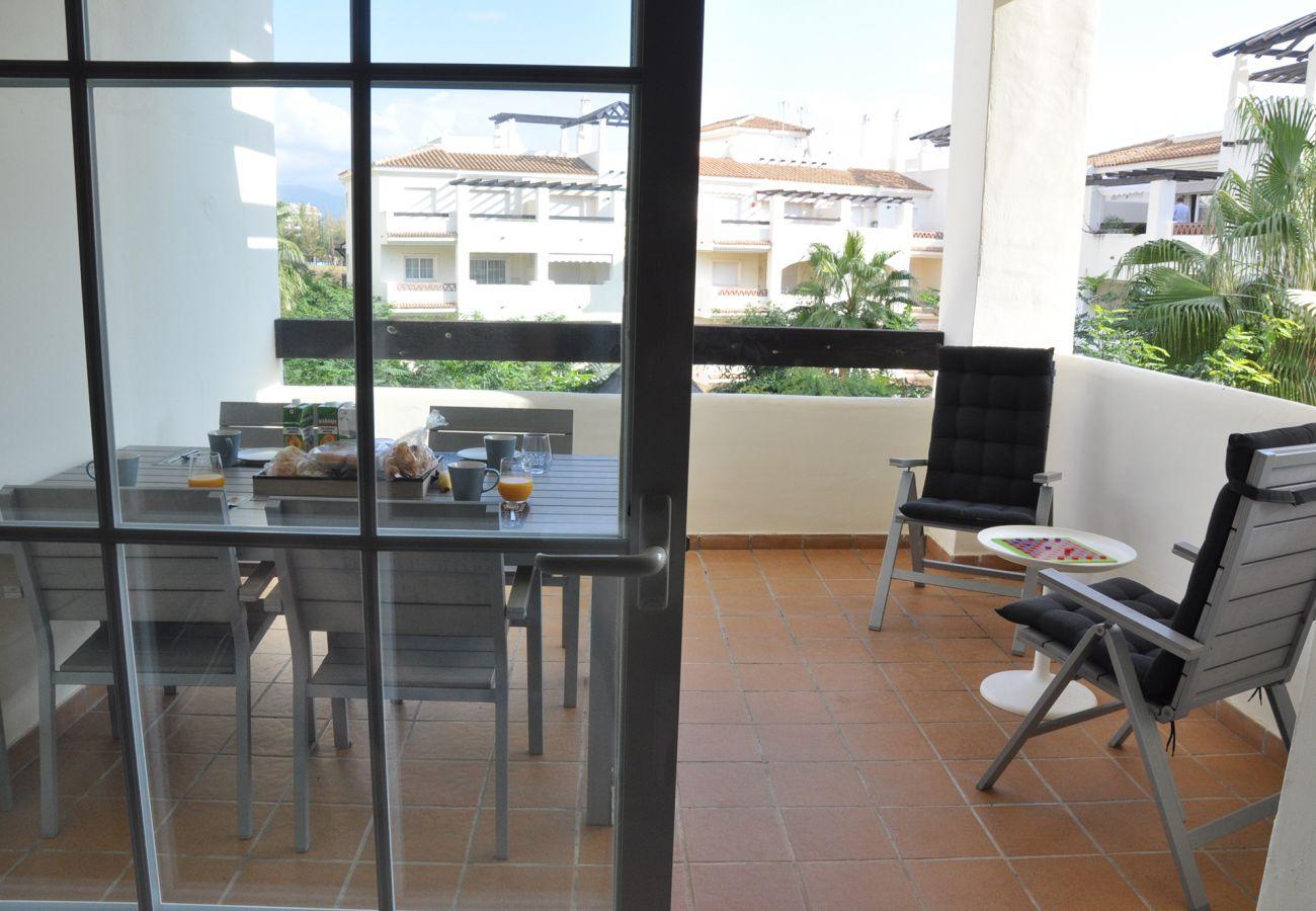Zapholiday - 2201 - Manilva appartementhuur - terras