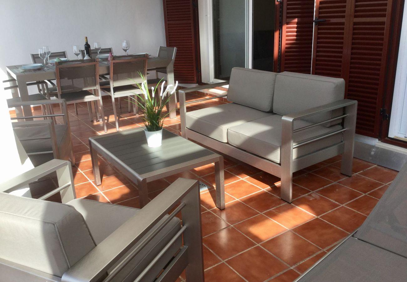 Zapholiday - 2202 - Alcaidesa appartementhuur - terras