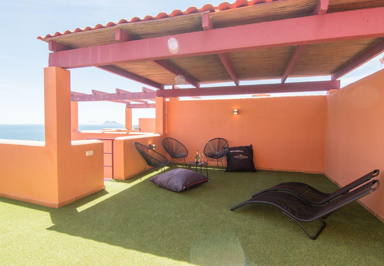Zapholiday - 2205 - Manilva appartementhuur - terras