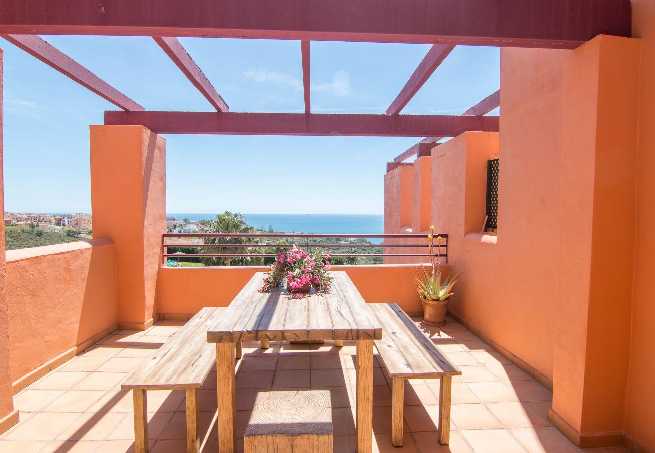 Zapholiday - 2205 - Manilva appartementhuur - uitzicht op zee