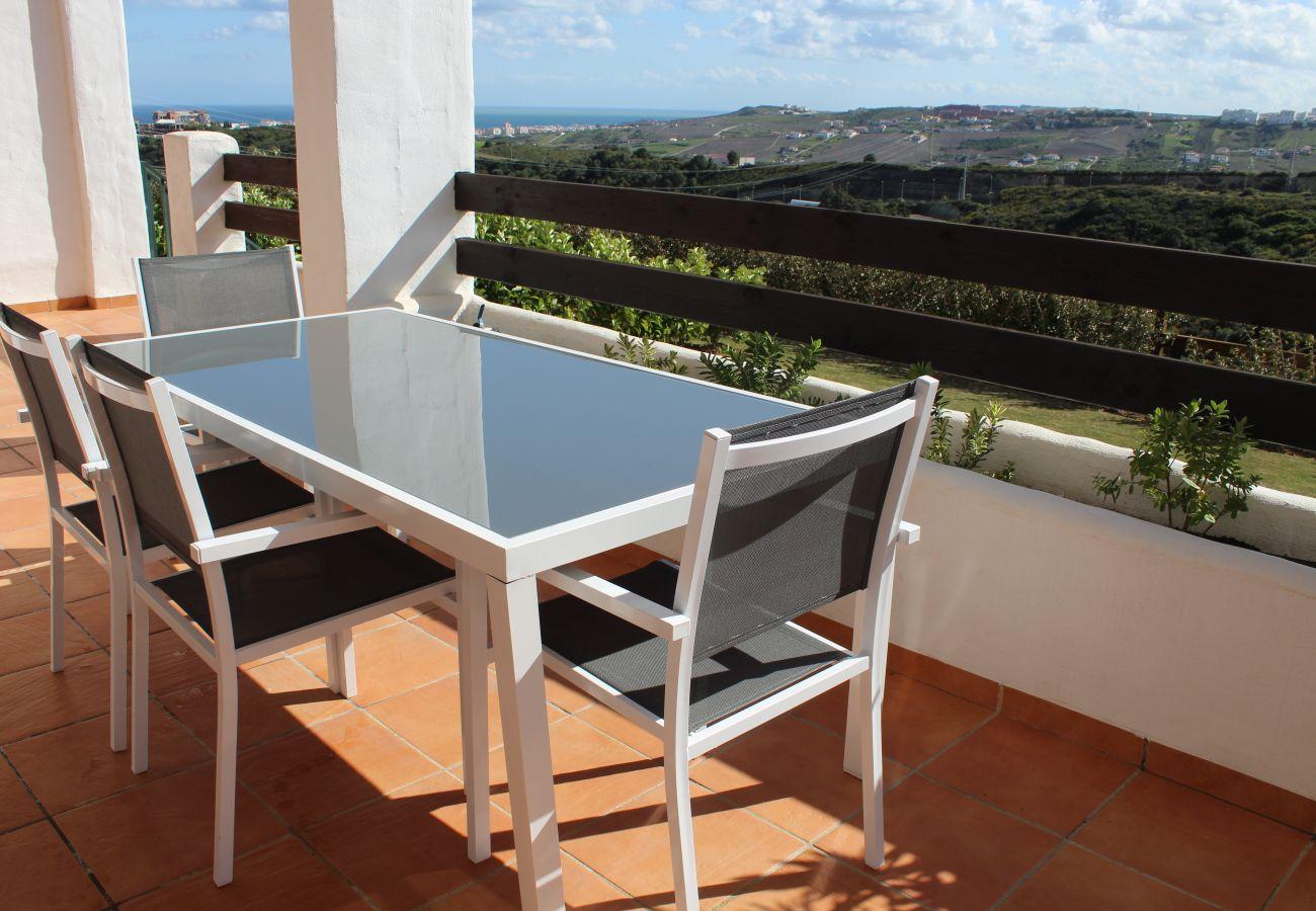 Zapholiday - 2215 - appartement verhuur Casares - uitzicht op zee