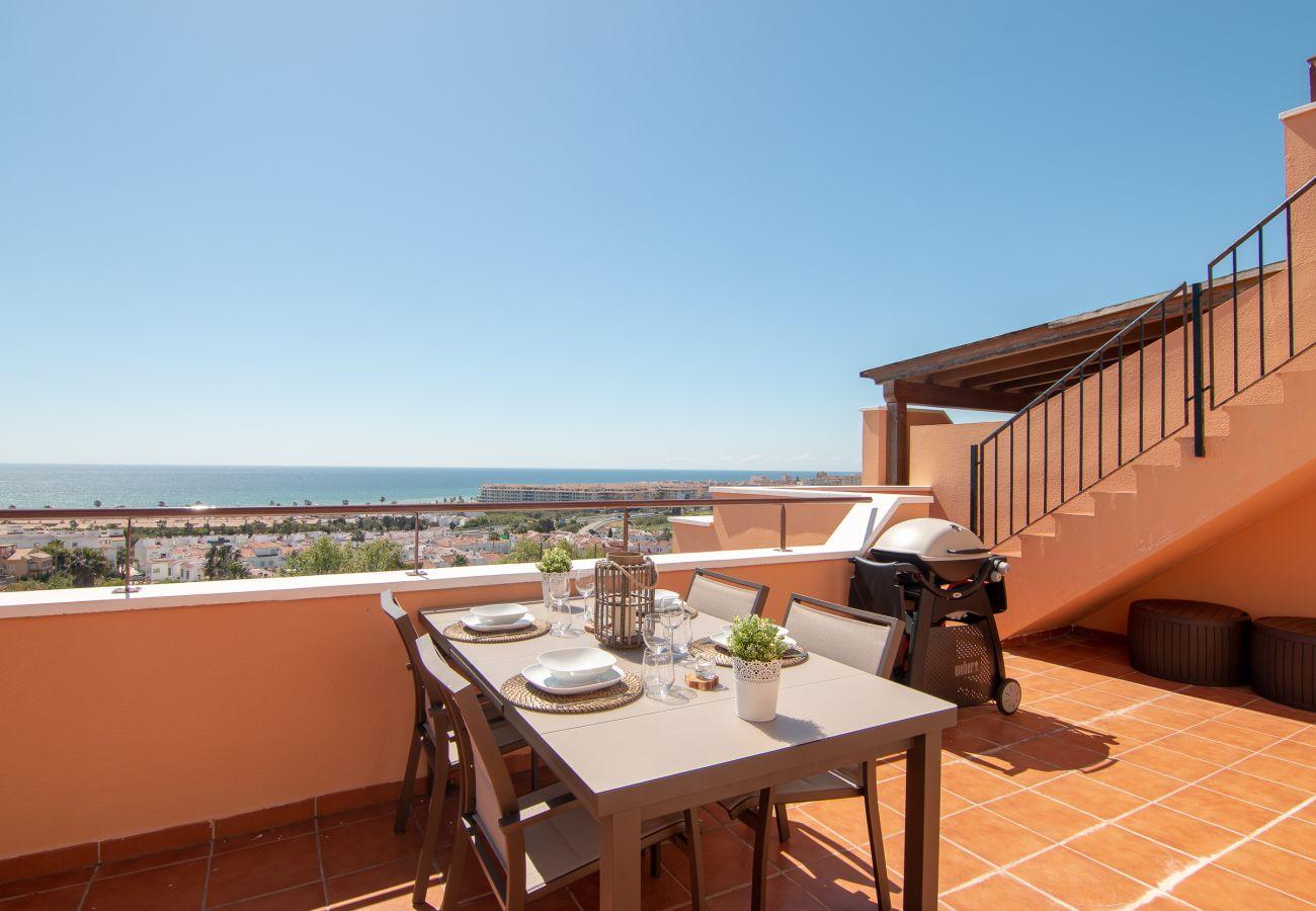 Zapholiday - 2242 - Casares appartementhuur - uitzicht op zee