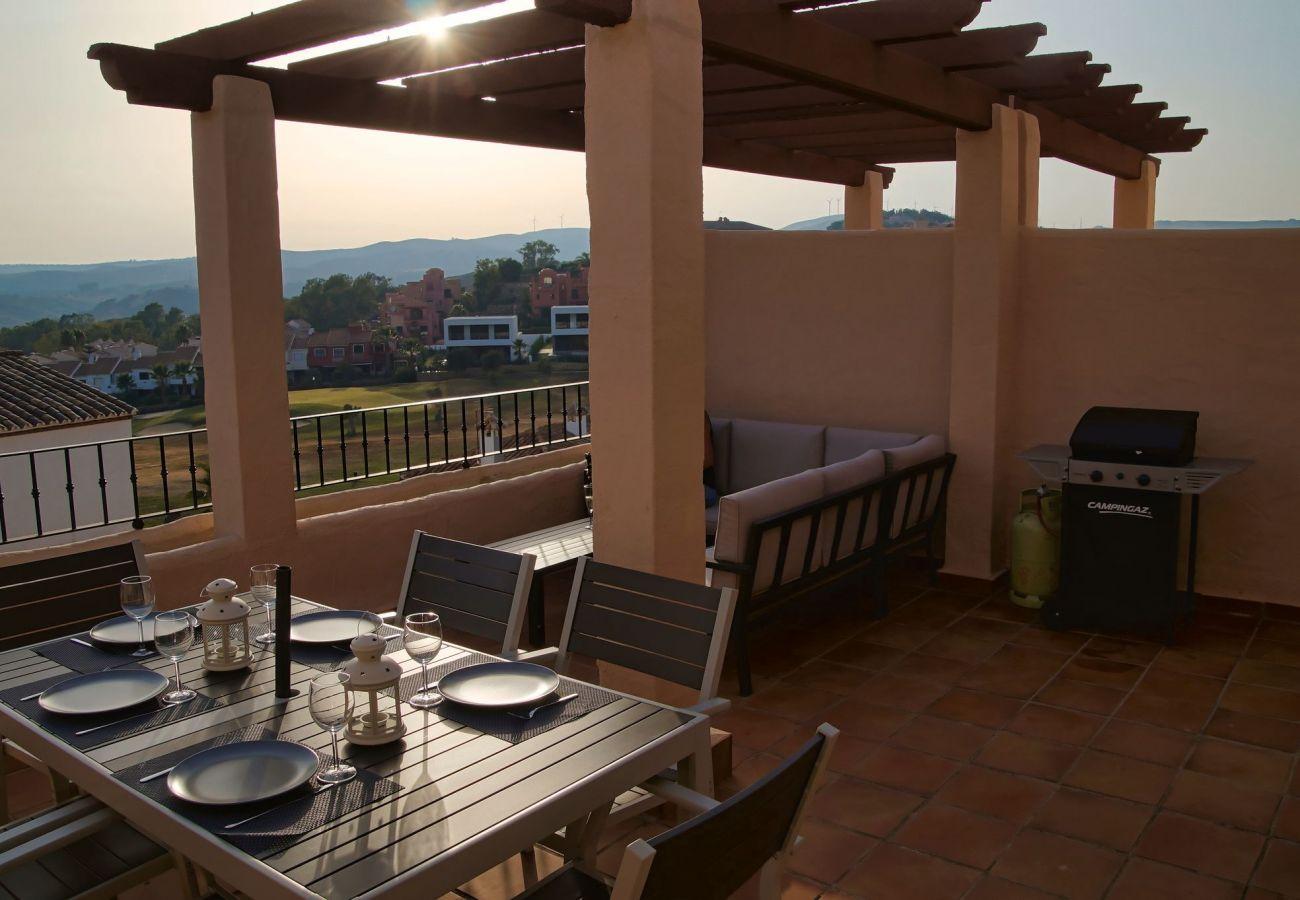 Zapholiday - 2247 - Manilva appartementhuur - terras