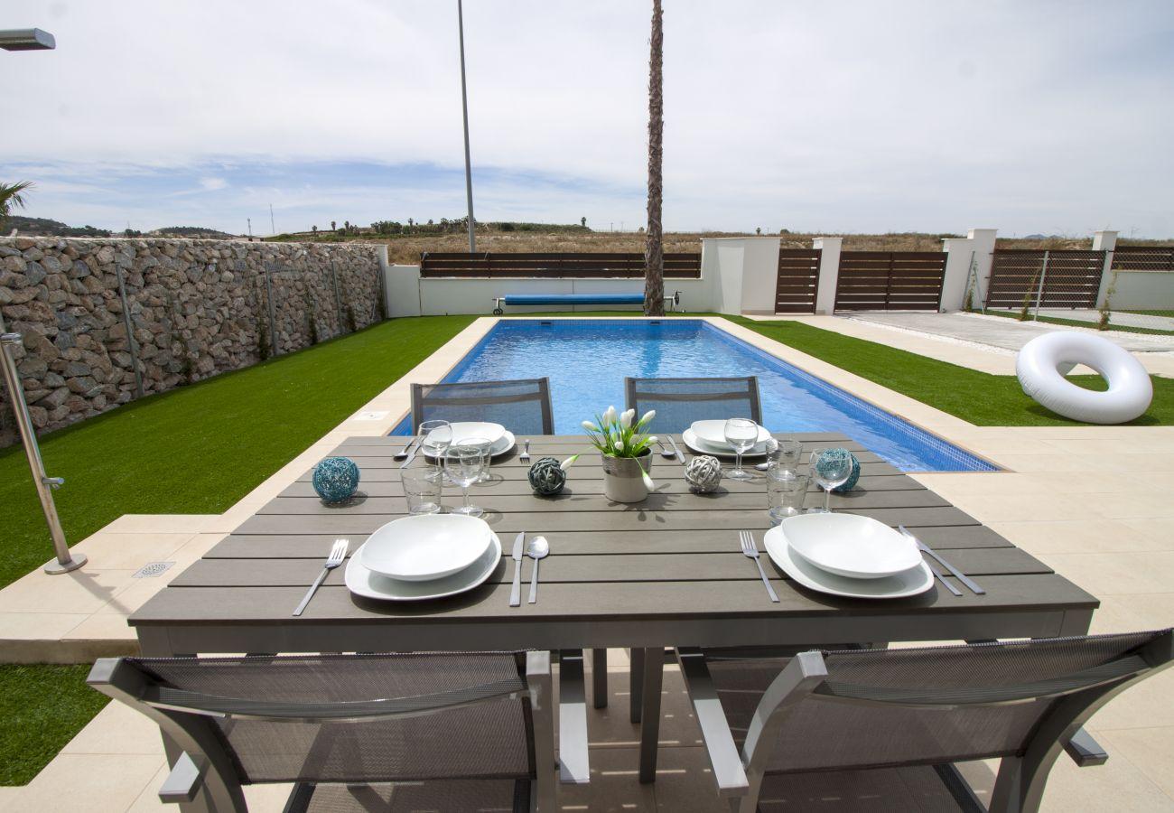 Zapholiday - 3021 - villa Orihuela, Alicante - terras