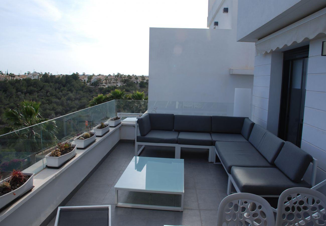 Zapholiday - 3026 - Appartement Golf Las Ramblas, Costa Blanca - terras