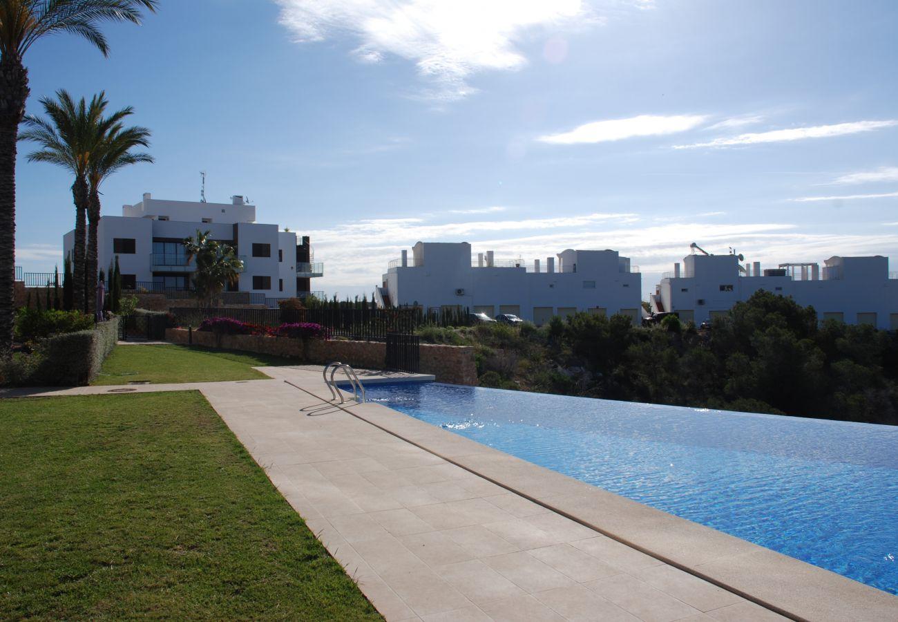 Zapholiday  –  3026  -  Appartement Golf Las Ramblas , Costa Blanca  –  zwembad