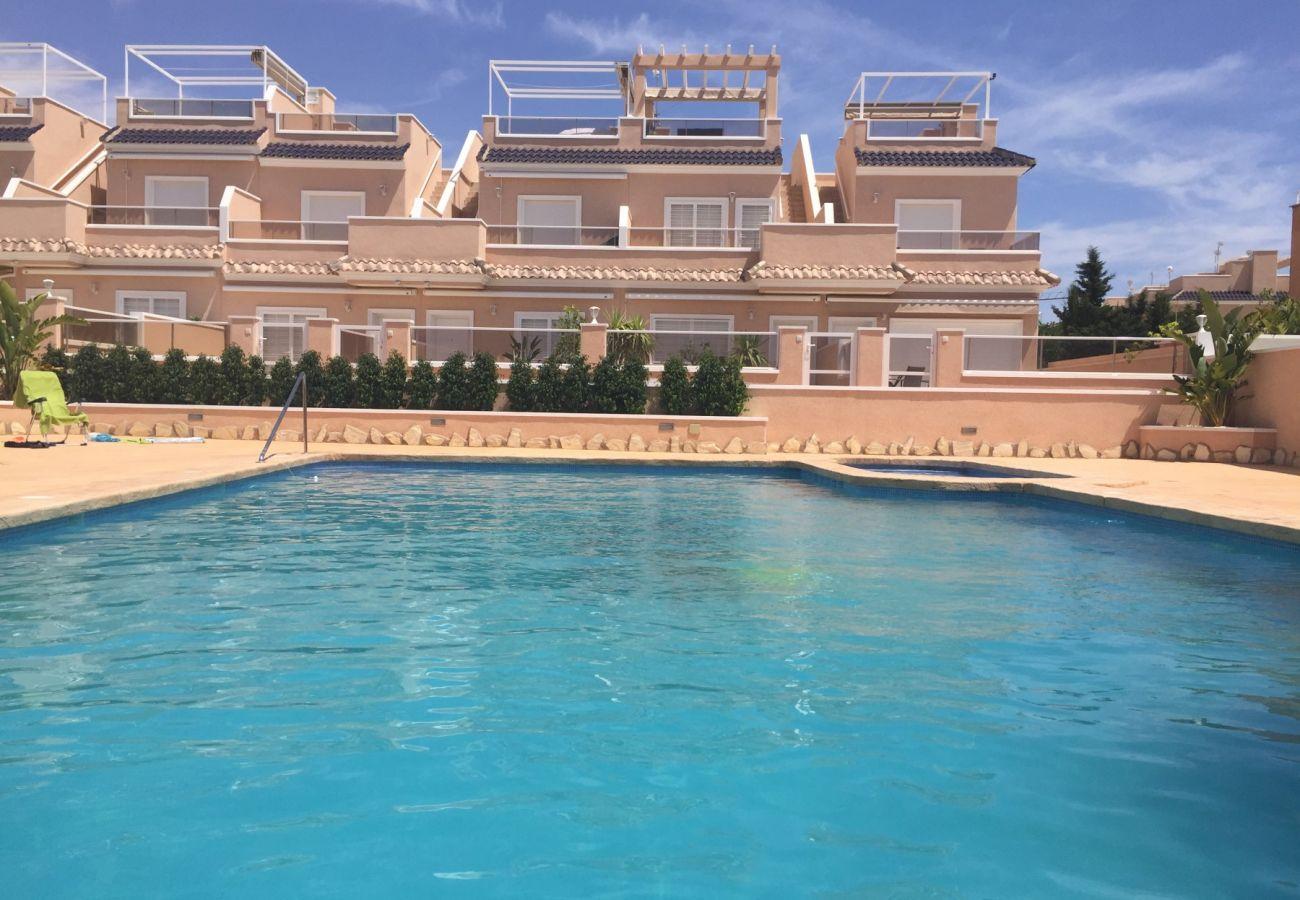 Zapholiday - 3027 - Appartement Torre de la Horadada, Costa Blanca - zwembad
