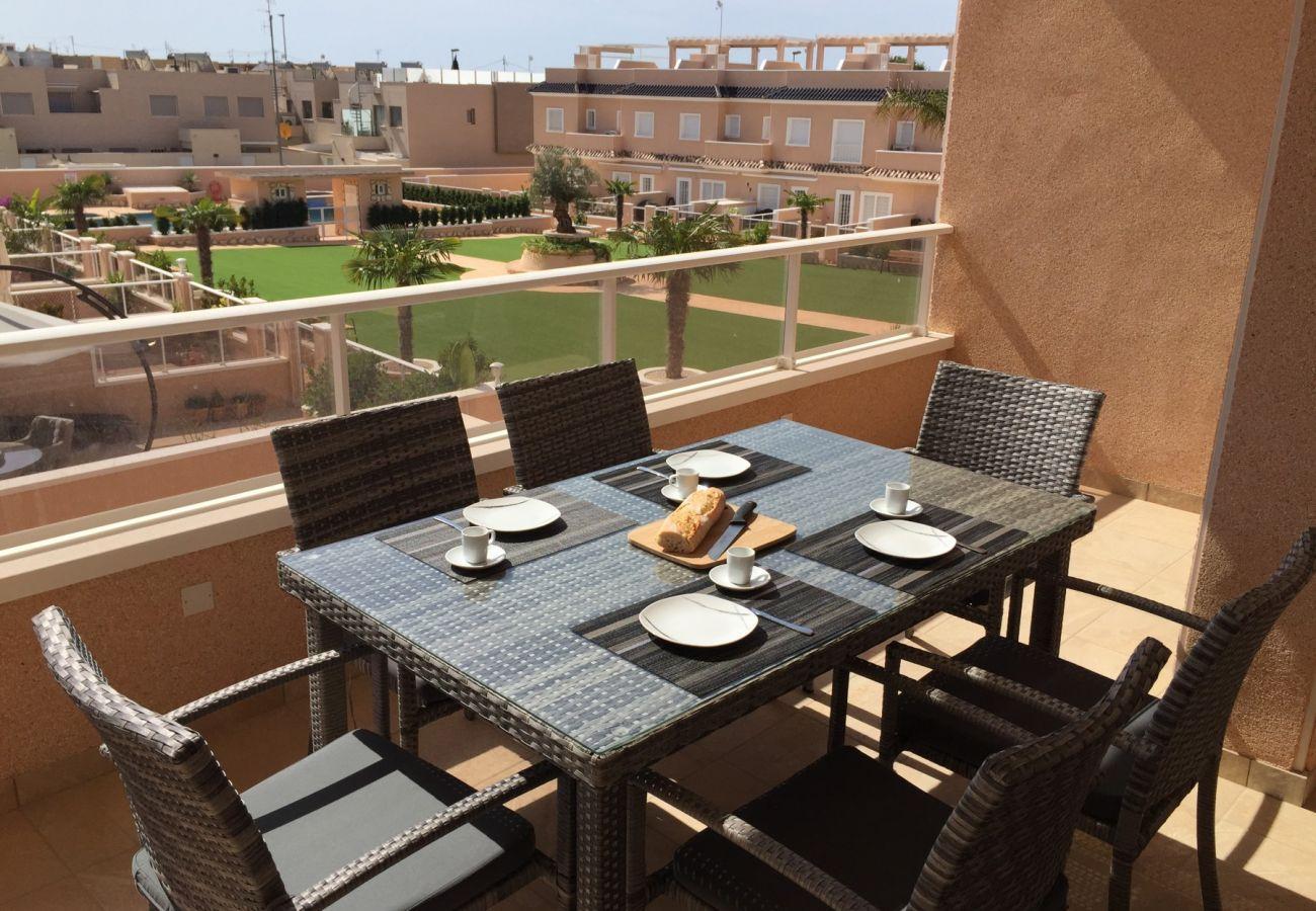 Zapholiday - 3027 - appartement Torre de la Horadada, Costa Blanca - terras