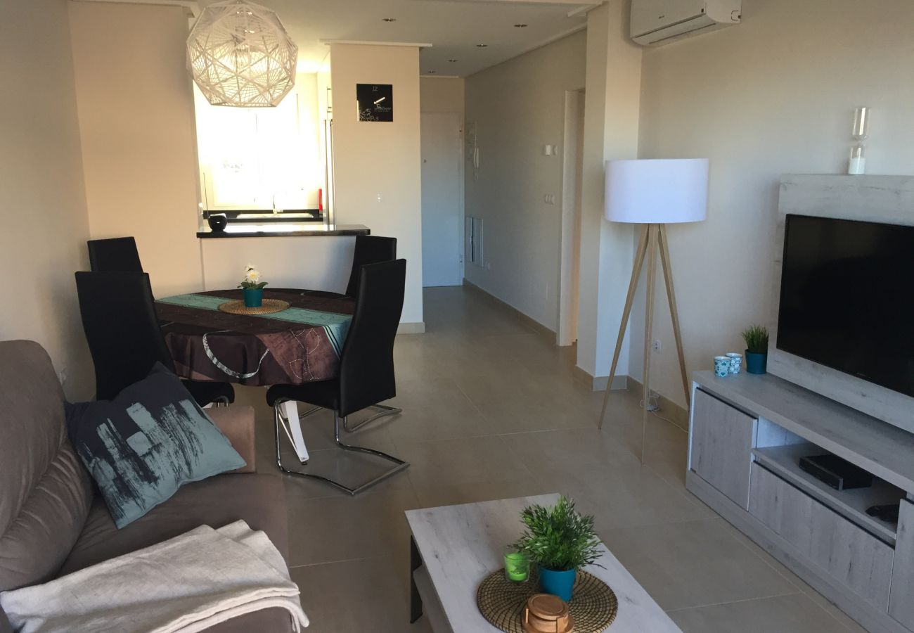 Zapholiday - 3027 - Appartement Torre de la Horadada, Costa Blanca - woonkamer