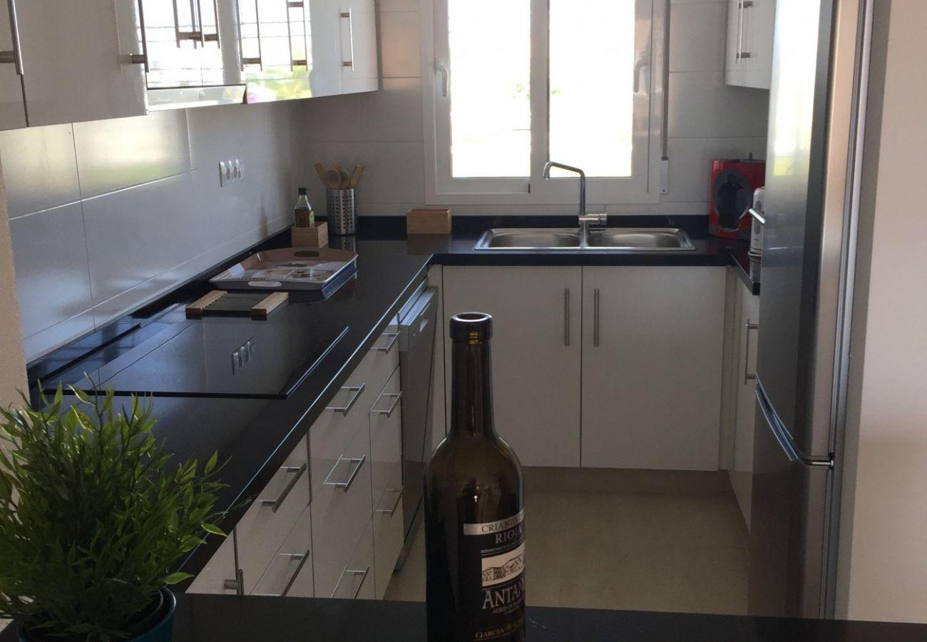 Zapholiday - 3027 - Appartement Torre de la Horadada, Costa Blanca - keuken