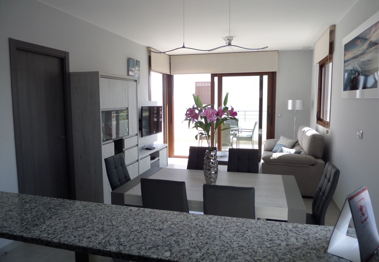 Zapholiday - 3029 - Orihuela Costa penthouse, Costa Blanca - woonkamer