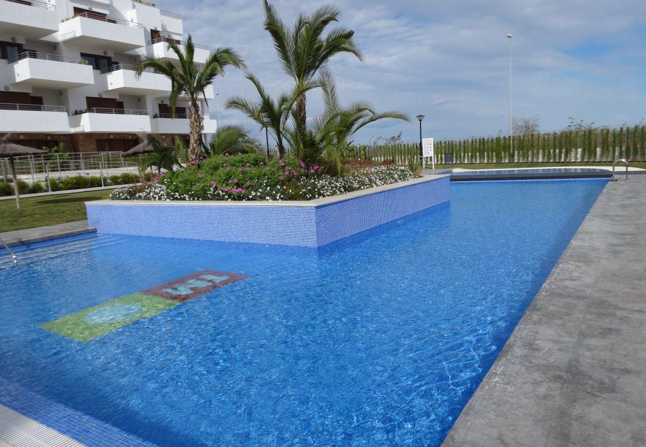 Zapholiday - 3056 - Appartement Terrazas de Campoamor, Costa Blanca - zwembad