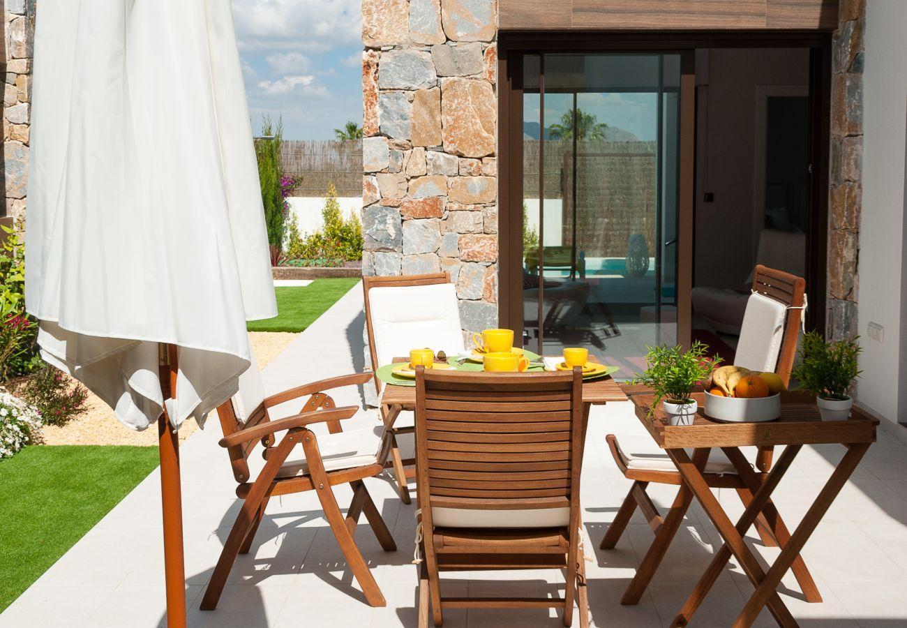Zapholiday  –  3019  -  villa Algorfa, Alicante  –   terras