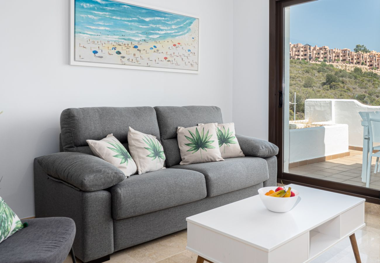 Zapholiday - 2290 - appartement verhuur La Duquesa, Costa del Sol - woonkamer