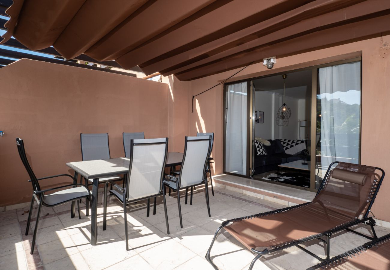 Zapholiday - 2297 - Casares appartement, Costa del Sol - terras
